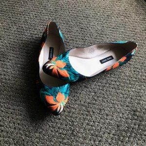 Flower Print Ballet Flats from Nine West